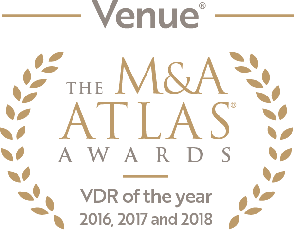 Virtual Data Room of the Year 2016, 2017 and 2018